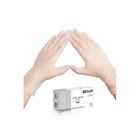 Виниловые перчатки белые EcoLat L, 100 шт