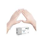 Виниловые перчатки белые EcoLat XL, 100 шт