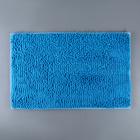 Коврик Доляна «Букли длинные», 49×76 см, цвет голубой - фото 7930361