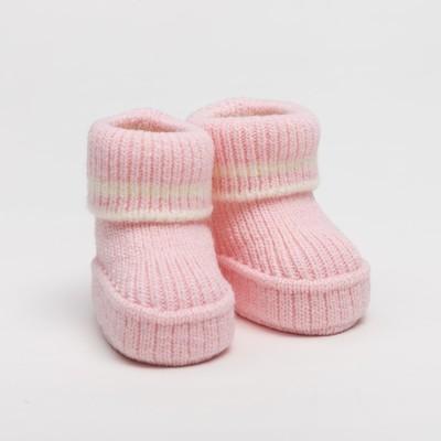 """Носки детские """"Пинетки Зефирки"""", рост 50-56 см, цвет розовый 05416_М"""