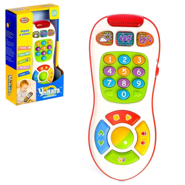 Игрушка музыкальная обучающая «Пульт», учим буквы, световые и звуковые эффекты, МИКС