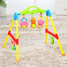 Игровой развивающий центр «Детство», с погремушками