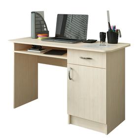Стол письменный 1200 × 570 × 750, Дуб молочный