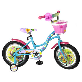 """Велосипед 12"""" Navigator DISNEY Феи, 2018, цвет бирюзовый/розовый"""