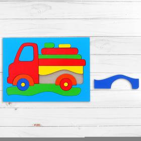 Головоломка «Собери картинку: грузовик», 16 элементов