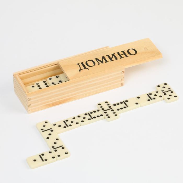 """Домино """"Подарочное"""", шкатулка, микс"""