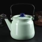 Чайник 3,5 л, без деколи, цвет салатовый