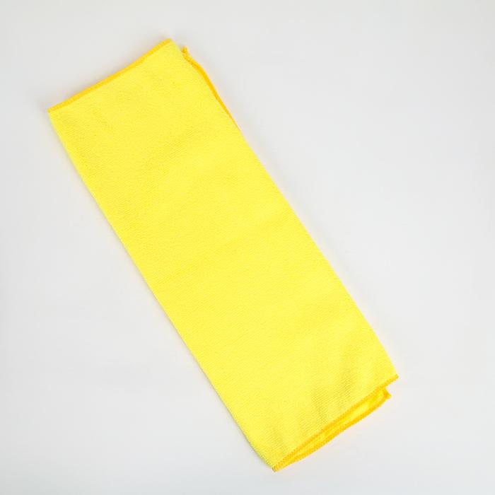 Тряпка для пола, супервпитывающая 60×40 см, 250 г/м2, микрофибра, цвет МИКС