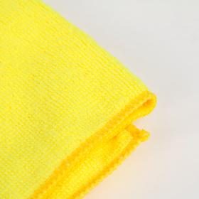 Тряпка для мытья пола супервпитывающая Доляна, 60×40 см, 250 г/м2, микрофибра, цвет МИКС - фото 4648260