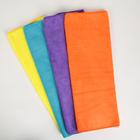 Тряпка для мытья пола супервпитывающая Доляна, 60×40 см, 250 г/м2, микрофибра, цвет МИКС - фото 4648261