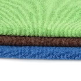Тряпка для мытья пола супервпитывающая Доляна, 60×40 см, 250 г/м2, микрофибра, цвет МИКС - фото 4648263