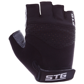 Cycling gloves STG, AI-03-202, size XL, black / gray
