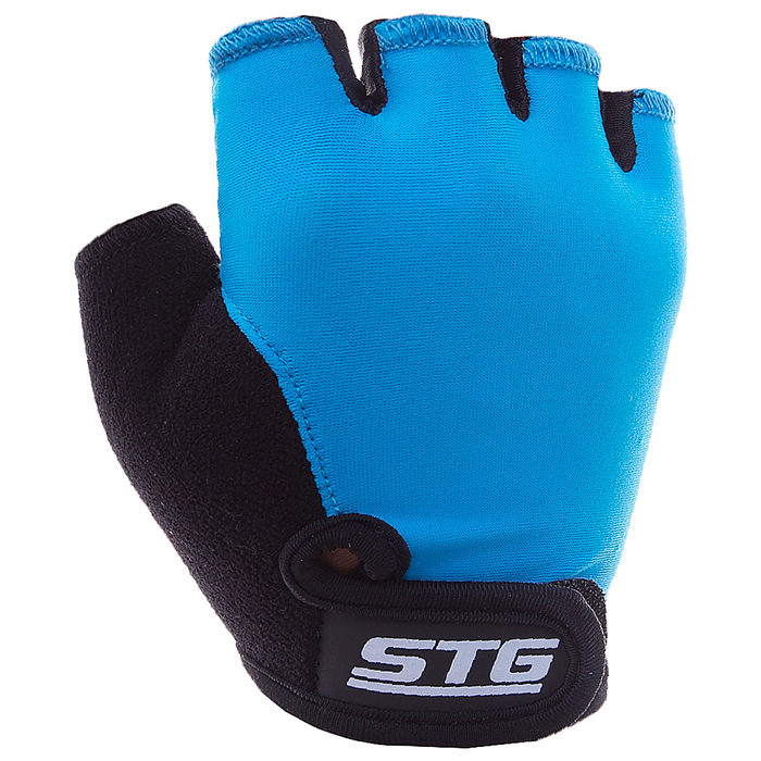 Перчатки велосипедные детские STG Х87905, резмер XS, цвет синий