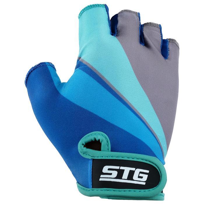 Перчатки велосипедные STG Х87908, размер S
