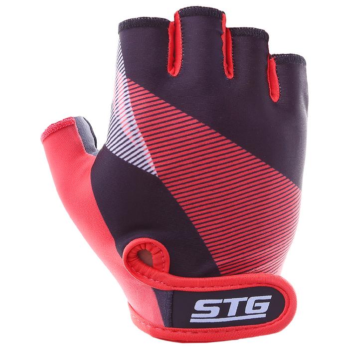 Перчатки велосипедные STG Х87912, размер L