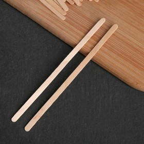 Деревянный размешиватель, 14×0,5 см, 35 шт