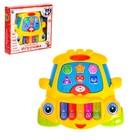 Музыкальная игрушка-ионика «Бибика», забавные мелодии, световые эффекты, русская озвучка, МИКС