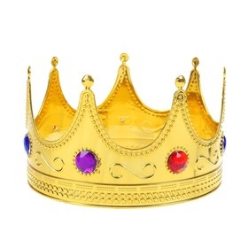 Корона «Король», с камнями, обхват головы 56 см
