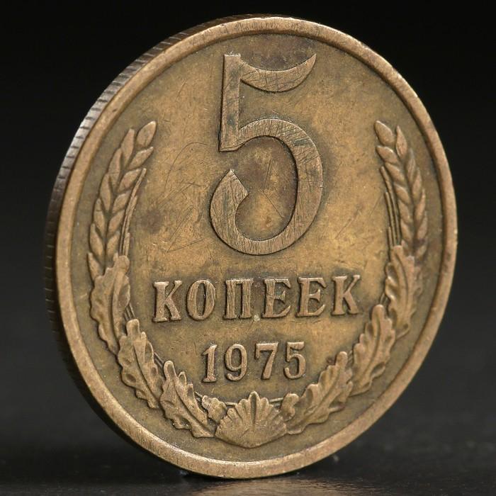 "Монета ""5 копеек 1975 года"""