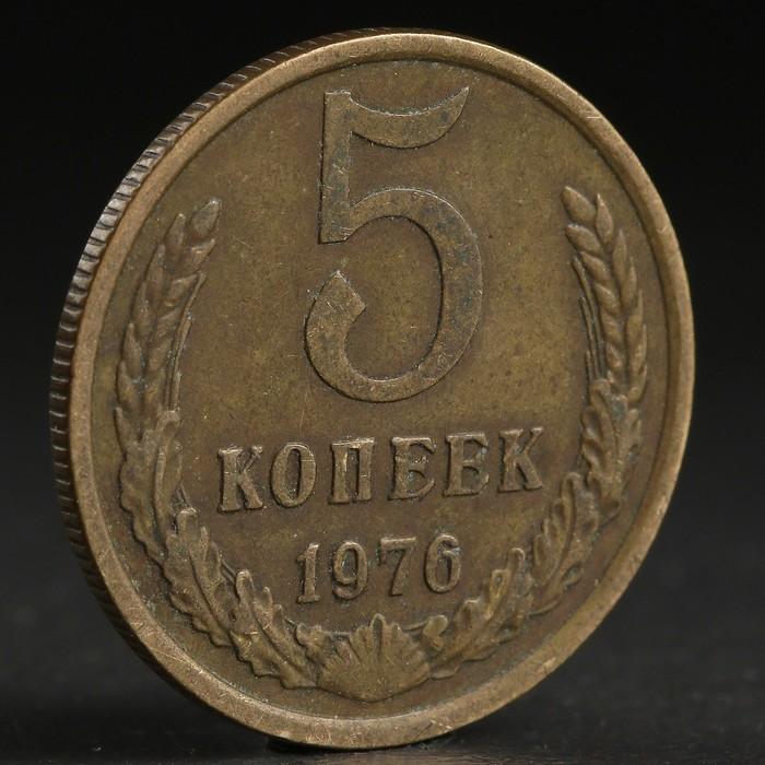 "Монета ""5 копеек 1976 года"""