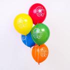 """Шар воздушный """"С Днём рождения"""", 12"""", Гадкий Я, Миньоны: Кевин и Боб, 5 шт. МИКС - фото 155399905"""