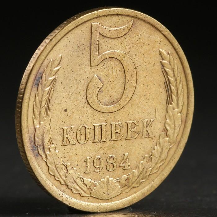 "Монета ""5 копеек 1984 года"""