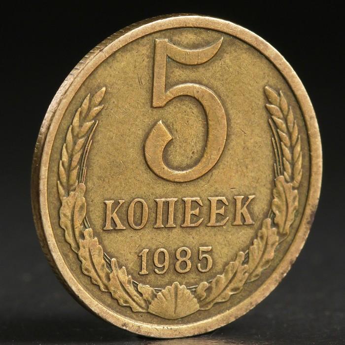 "Монета ""5 копеек 1985 года"""
