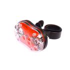 Фонарь велосипедний задний FX-500T-3A, 9 диодов, 7 функции