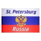 сувенирные флаги с Санкт-Петербургом