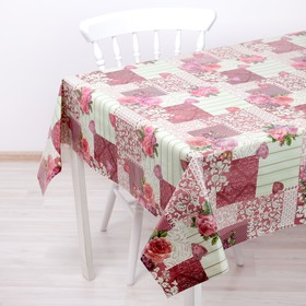 The oilcloth a dining room on a nonwoven basis, width: 137cm, thickness 0,08 mm, a roll of 20 meters