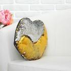Мягкая игрушка «Губы», хамелеон, цвет серебряно-жёлтый - фото 105498581