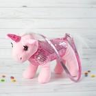 Мягкая сумка «Розовый единорог»