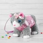 """Мягкая сумка """"Котик в розовой одежде"""""""