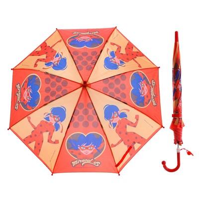 "Зонт детский ""Леди баг"", r=45 см, со свистком"