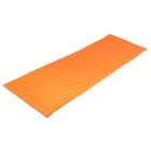 Мат мягкий, oxford, 145х52х2 см, цвет оранжевый/зелёный
