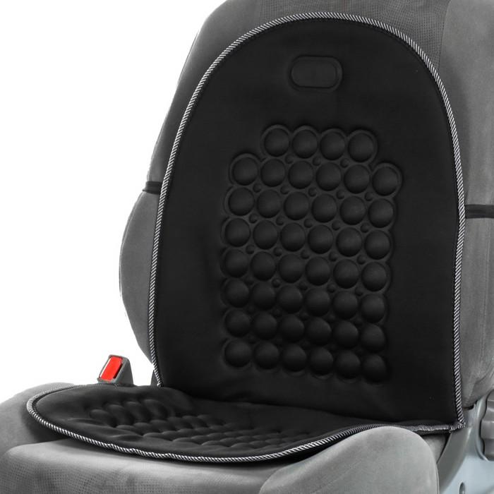 Накидка-массажер на сиденье, черный
