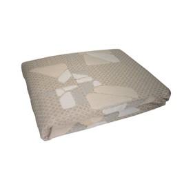 Покрывало «Кристаллы», размер 160 × 200 см, цвет бежевый ПП-16