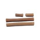 Трубочка силиконовая для пальцев стопы с тканевым поокрытием ,размер универсалный