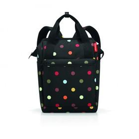 Рюкзак, размер 25 x 40 x 17 см, принт горошек JR7009