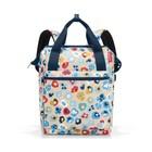 Рюкзак, размер 25 x 40 x 17 см, принт цветочный  JR6038