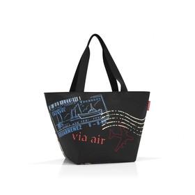 Сумка-шоппер, размер 51 x 30,5 x 26 см, цвет чёрный ZS7037 в Донецке