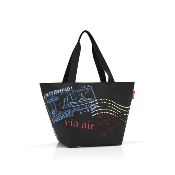 Сумка-шоппер, размер 51 x 30,5 x 26 см, цвет чёрный ZS7037