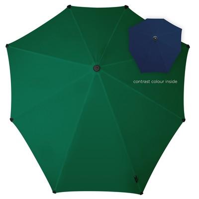 Зонт-трость, диаметр 90 см, цвет зелёный 2011105