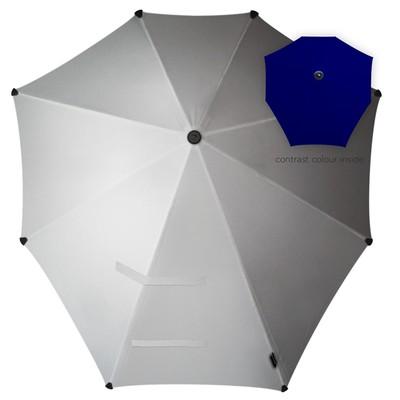 Зонт-трость, диаметр 90 см, цвет белый 2011110