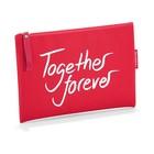 Косметичка together forever, размер 23х17 см, цвет красный LR0309