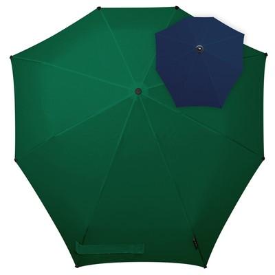 Зонт-автомат , диаметр 91 см, цвет зелёный  1021067