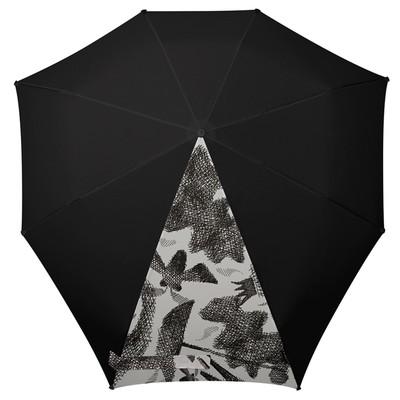 Зонт-автомат , диаметр 91 см, цвет чёрный  1021065