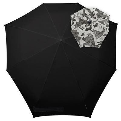 Зонт-автомат , диаметр 91 см, цвет чёрный  1021066