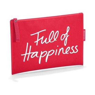 """Косметичка """"Full of happiness"""", цвет красный"""