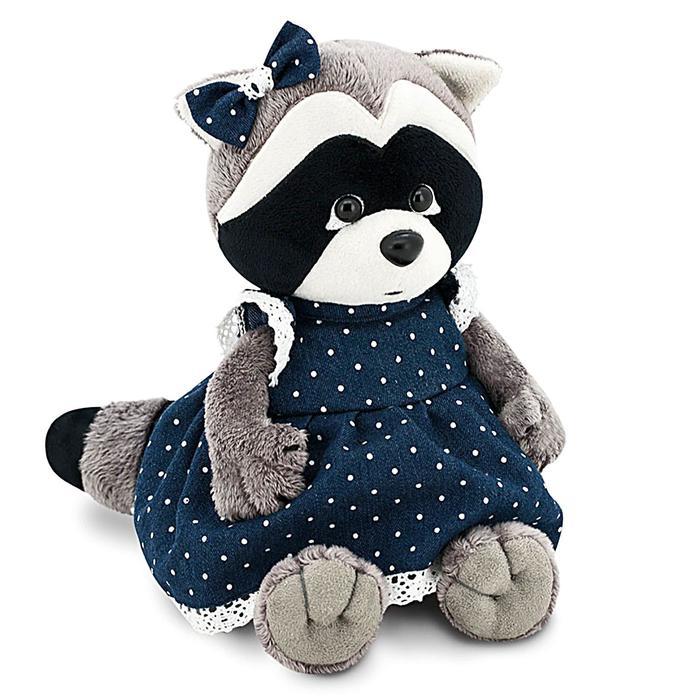 Мягкая игрушка «Енотик Дэйзи: Джинсовая романтика», 20 см - фото 4469438